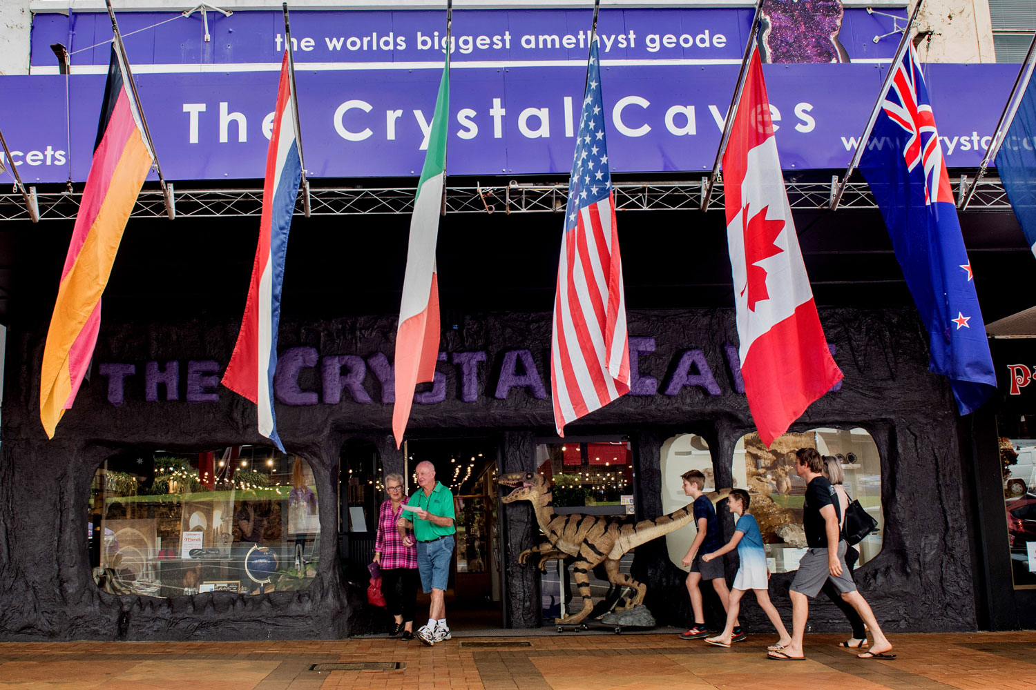 Bring on the sparklers – The Crystal Caves are 30